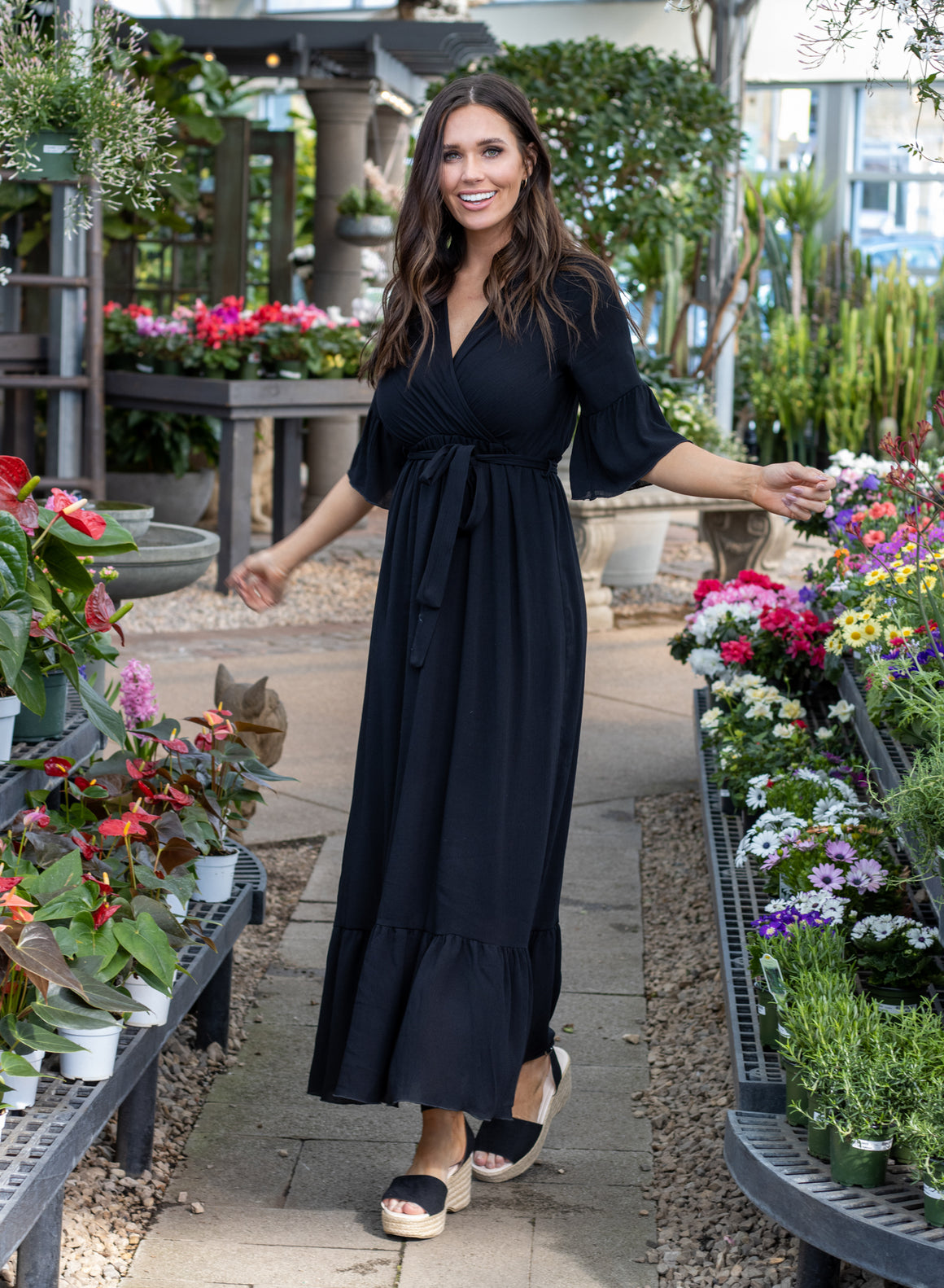 EMERSON DRESS IN BLACK