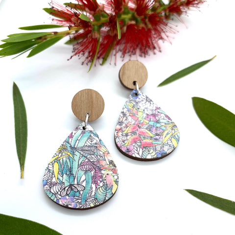 Gorgeous By Carly - Australiana earrings