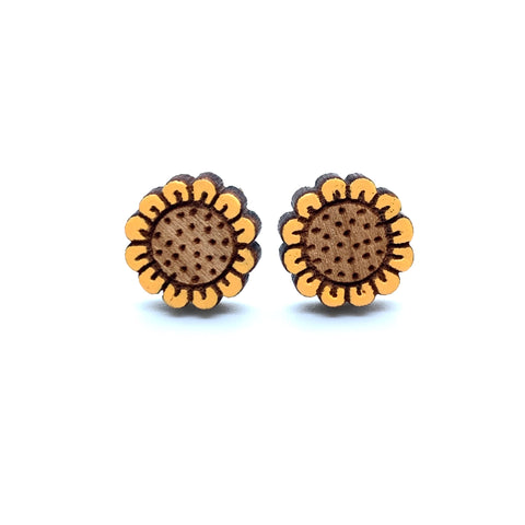 Sunflower Stud