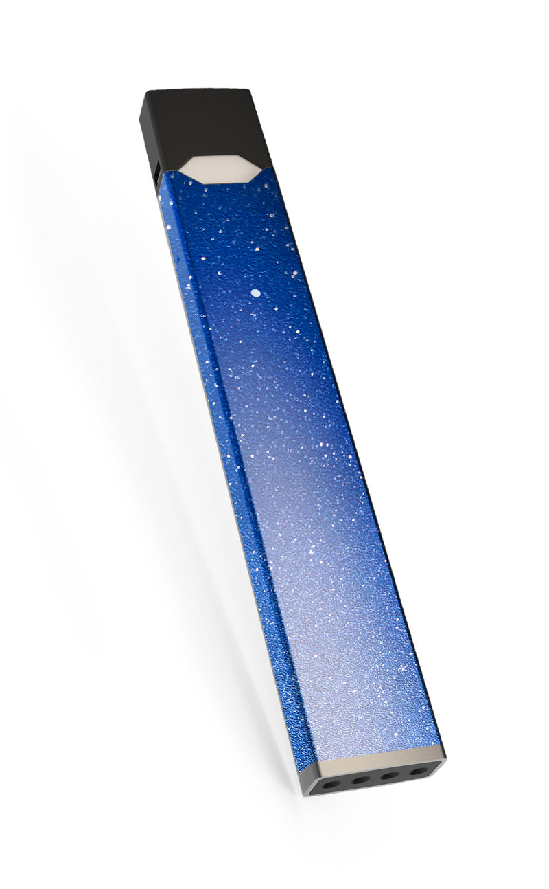 Blue Diamond Sparkly textured Juul Skin