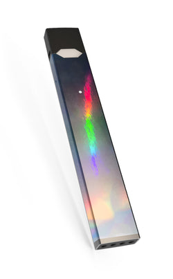 Silver Platinum Chrome Holographic Juul Skin