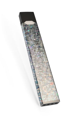 Silver Sparkle - Chrome Skin for JUUL® Device