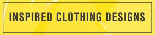 inspired clothing designs logo yellow