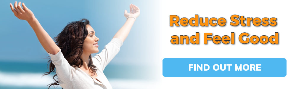 Reduce Stress and Feel Good Promotional Banner