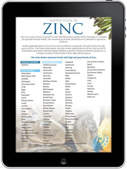 Foods High in Zinc | Conquering Pyroluria
