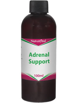 NatroVital Adrenal Support 100ml Herbal Tonic
