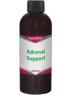 NatroVital Adrenal Support 200ml Herbal Tonic