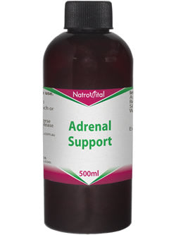 NatroVital Adrenal Support 500ml Herbal Tonic