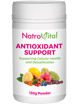 NatroVital Antioxidant Support 150g Powder
