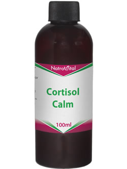 NatroVital Cortisol Calm 100ml Herbal Tonic