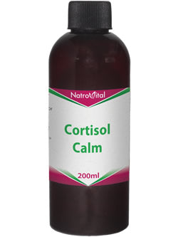 NatroVital Cortisol Calm 200ml Herbal Tonic