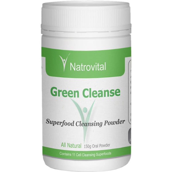 NatroVital Green Cleanse 150g Powder