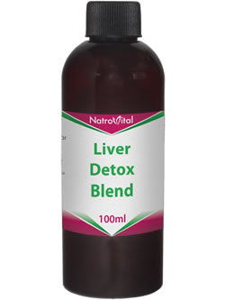 NatroVital Liver Detox Blend 100 Herbal Tonic