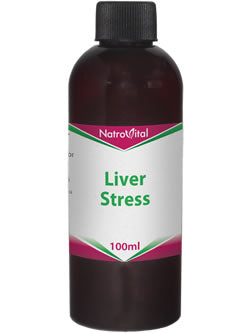 NatroVital Liver Stress 100ml Herbal Tonic