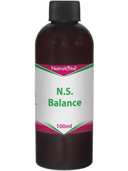 NatroVital N.S Balance 100ml Herbal Tonic