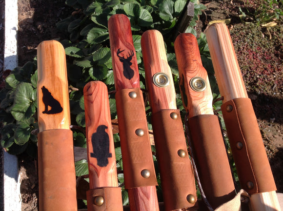 Redwood & Bamboo Hiking Sticks