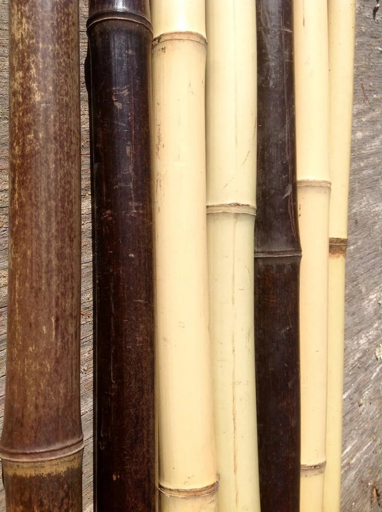 100% Vintage - Bamboo Wooden Walking Stick -  Hiking Staff Trekking Pole
