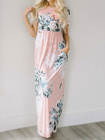 Casual Call Me Ravishing Pink Maxi Dress