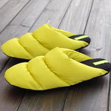 ByChicStyle Casual Big Size Light Waterproof Slip On Warm Indoor Home Slippers