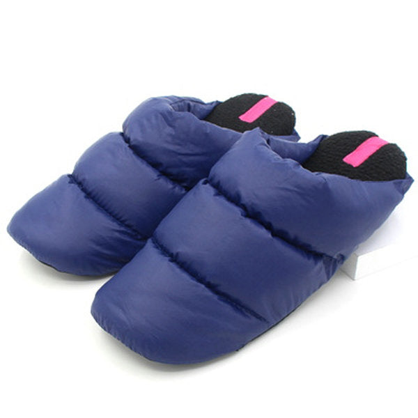Casual Big Size Light Waterproof Slip On Warm Indoor Home Slippers