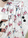 ByChicStyle Casual Feeling Gorgeous Floral Print Dress