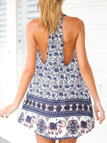 ByChicStyle Casual Bohemian Sleeveless Mini Dress