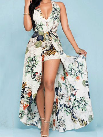 Casual Here Comes The Beauty Floral Print Dress