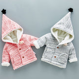 ByChicStyle Casual Warm Winter Newborn Kid Baby Infant Boys Girls Outwear Coat
