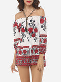 ByChicStyle Floral Printed Captivating Rompers - Bychicstyle.com