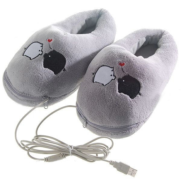 Casual Winter Keep Warm Pigs Indoor Home Shoes