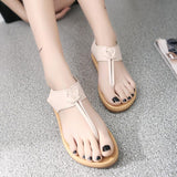 ByChicStyle Shoes - 2018 New Women's Comfortable Non-slip Soft Bottom Flat Sandals