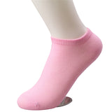 ByChicStyle 20pcs=10pairs/lot women cotton socks summer cute candy color boat socks ankle socks for woman thin sock slippers s04