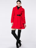 ByChicStyle Lapel Single Button Woolen Coat - Bychicstyle.com