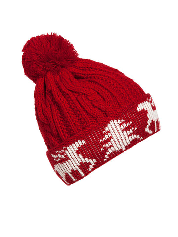 Christmas Winter Bobble Beanie Hat - Bychicstyle.com