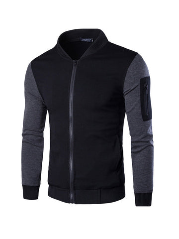 Fleece Warm Mens Bomber Jacket - Bychicstyle.com