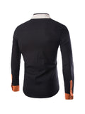 ByChicStyle Casual Band Collar Chic Men's Shirt