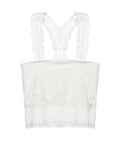 ByChicStyle Square Neck Hollow Out Plain Tube Top - Bychicstyle.com