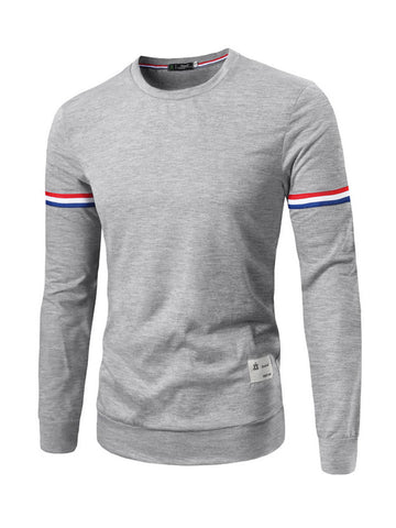Mens Round Neck Sweatshirt - Bychicstyle.com