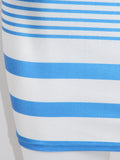 ByChicStyle Off Shoulder Striped Hot Bodycon Dress - Bychicstyle.com