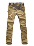 ByChicStyle Cotton Buttons Casual Men's Pant - Bychicstyle.com