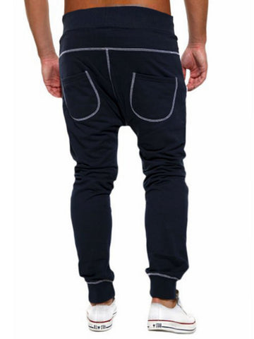 Contrast Stitching Men's Pant - Bychicstyle.com