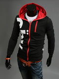 ByChicStyle Color Block Designed Letters Men Hoodie - Bychicstyle.com