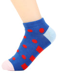 ByChicStyle Lovely Color Block Spot Sock - Bychicstyle.com