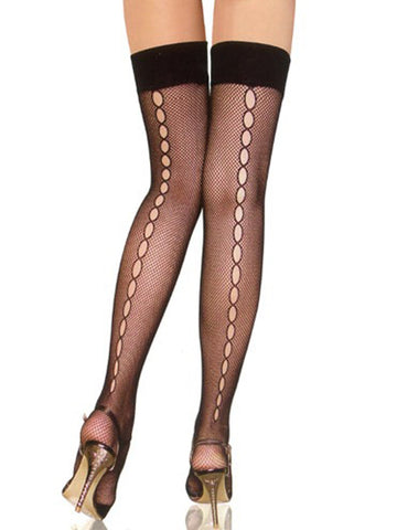 Hollow Out Sexy Long Stocking - Bychicstyle.com