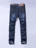 ByChicStyle Casual Basic Pocket Light Wash Straight Men's Jean