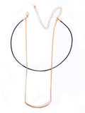 Streetstyle  Casual Bar Pendant Layered Necklace