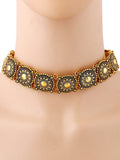 ByChicStyle Casual Retro Alloy Choker Necklace