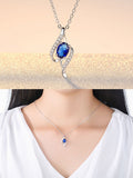 ByChicStyle Casual Angel Wing Zircon Necklace