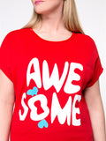 ByChicStyle Cute Awesome Printed Plus Size T-Shirt - Bychicstyle.com