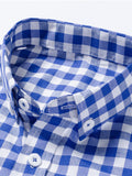 ByChicStyle Casual Basic Check Men Shirt With Pocket And Button Down Collar